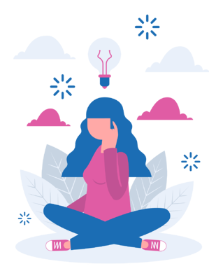 girl sitting and thinking about mindfulness, what is mindfulness