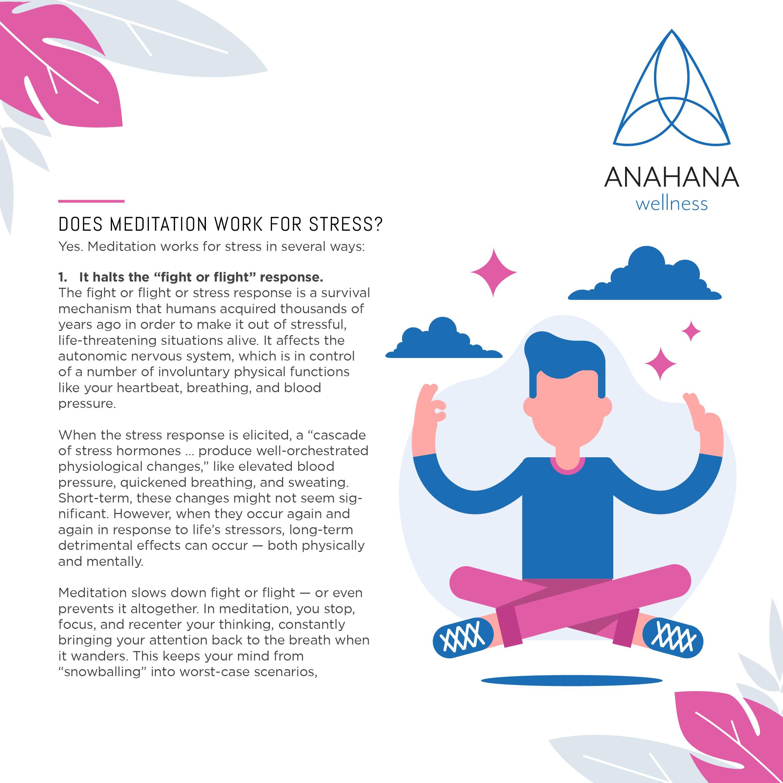 Anahana Wellness Meditation for Stress