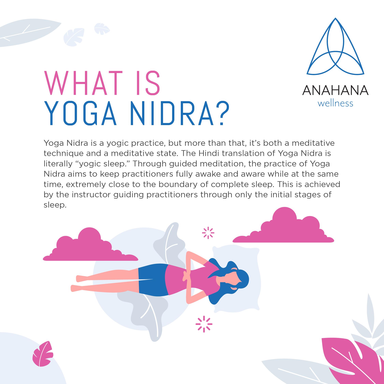 infographic yoga nidra