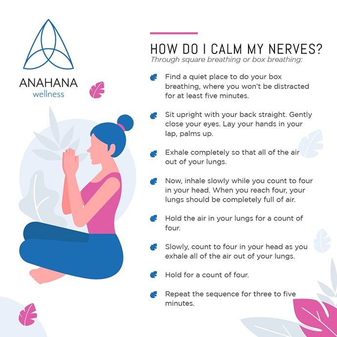 How to calm down and relax your mind and nerves