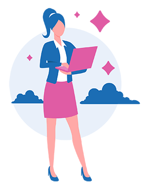 girl praticing workplace wellness through walking meetings