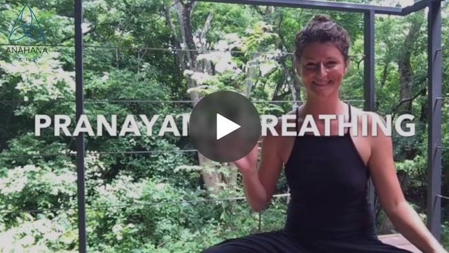 Aprenda a fazer a respiração pranayama com a instrutora de Anahana Nicole