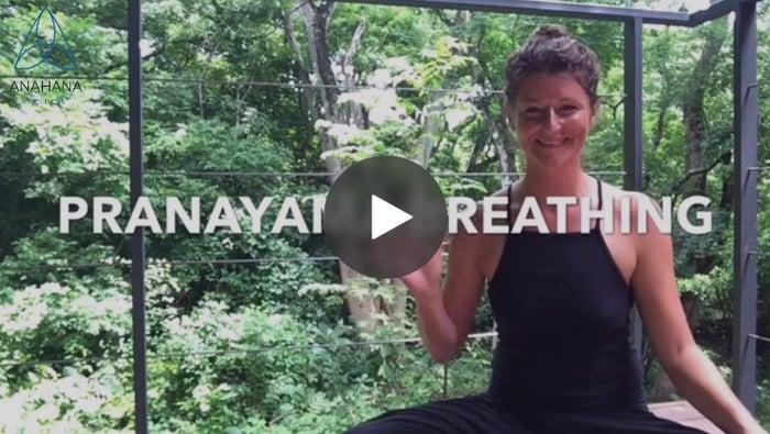 Anahana instructor Nicole introduces Pranayama Breathing