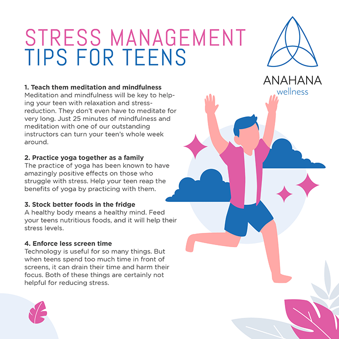 stress management tips for teens