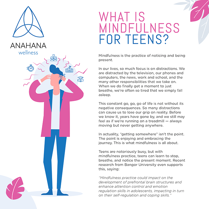 What is mindfulness for teens